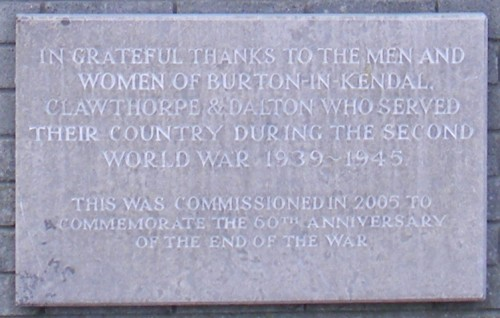 60th anniversary commemoration stone
