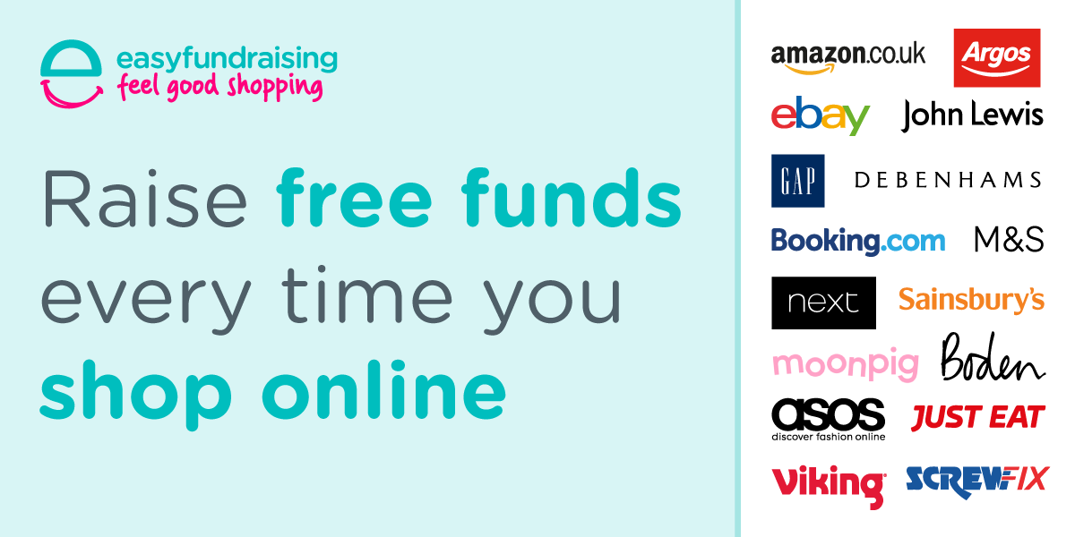 Raise free funds for us every time you shop.